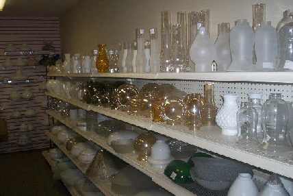 image of glass lamp shades - Replacement Glass Shades